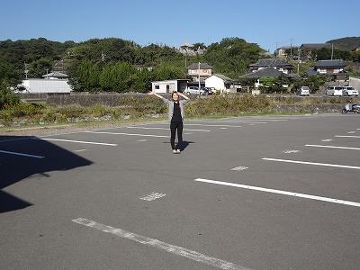 駐車場・中道